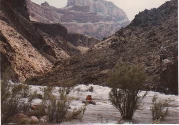 1983 High Water Trip Report by Dr  Charles Zemach - Rafting