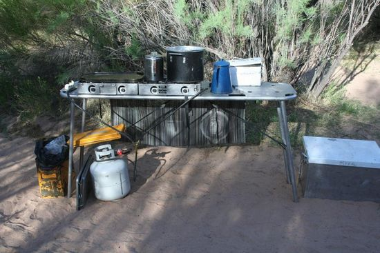 The Kitchen Rafting Grand Canyon